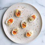 7-Minute Eggs with Everything Bagel Seasoning