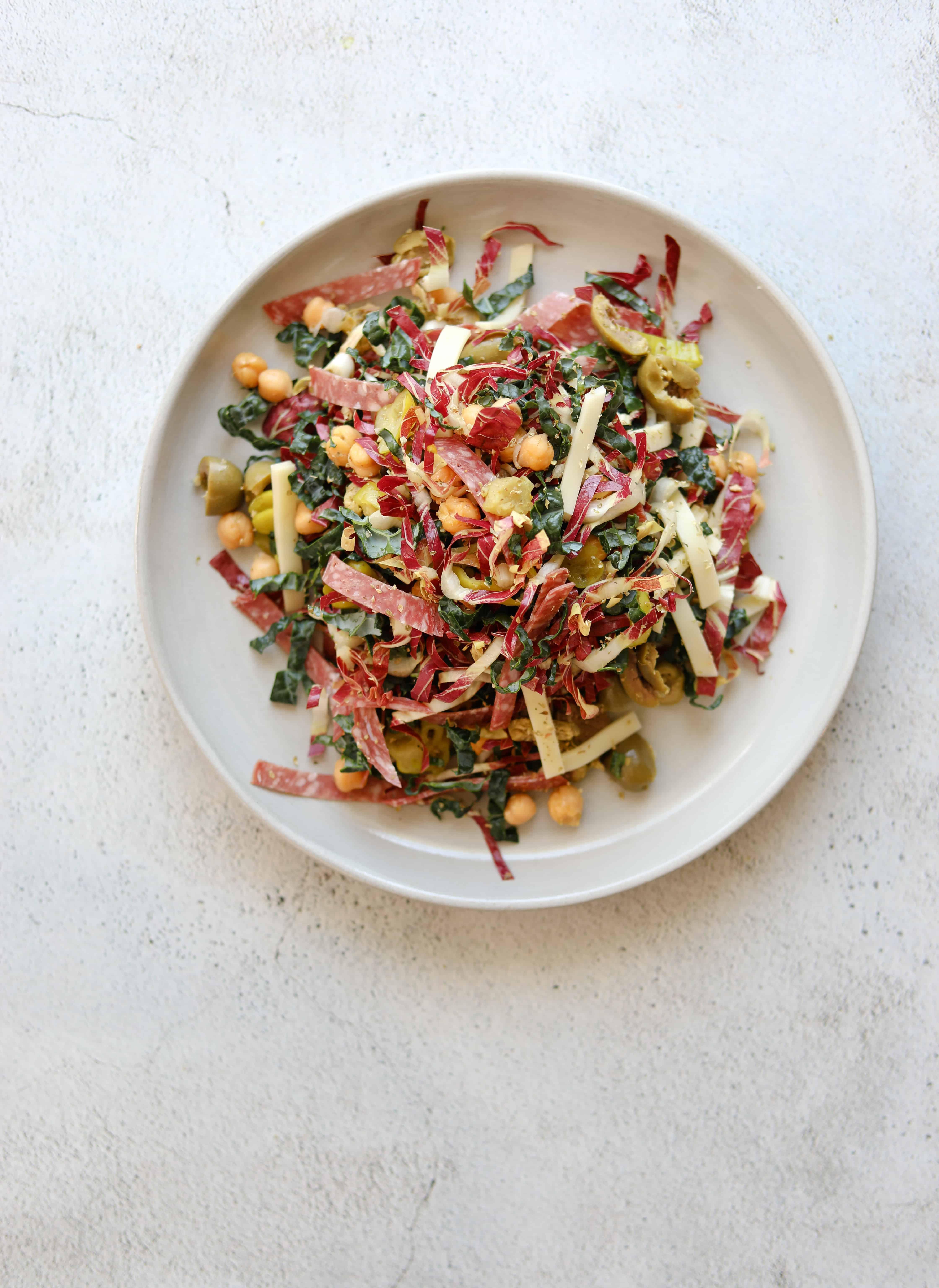 California Chopped Salad in a bowl