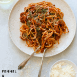 Fennel and Pork Bolognese