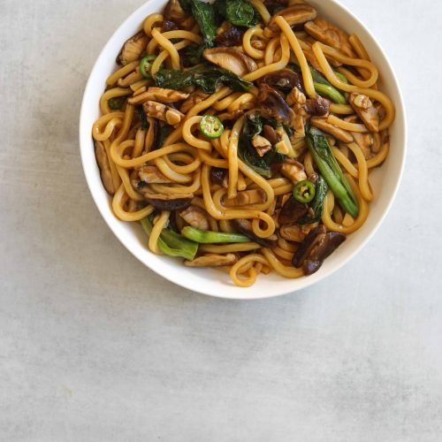 Udon Noodle Stir Fry Craving California