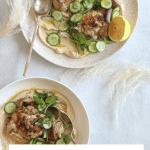 Za'atar Chicken and Hummus Bowls