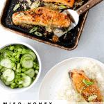 Miso-Honey Sheet Pan Salmon