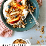 Puffed Millet Granola with Almonds, Honey and Coconut
