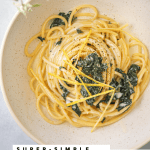 Bucatini al Limone with Wilted Kale