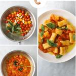 Ricotta Gnocchi with Quick Cherry Tomato Confit