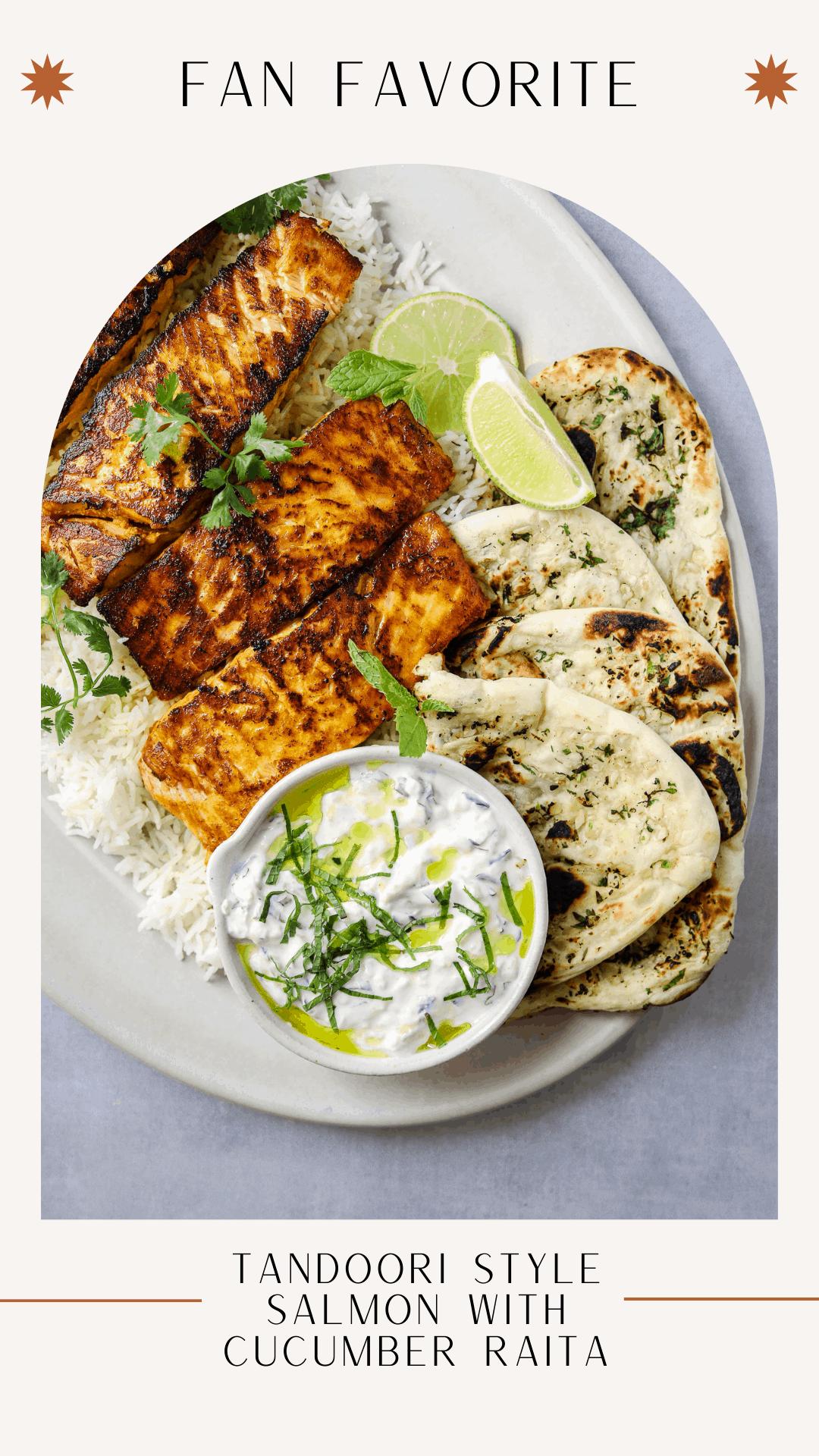 tandoori style salmon